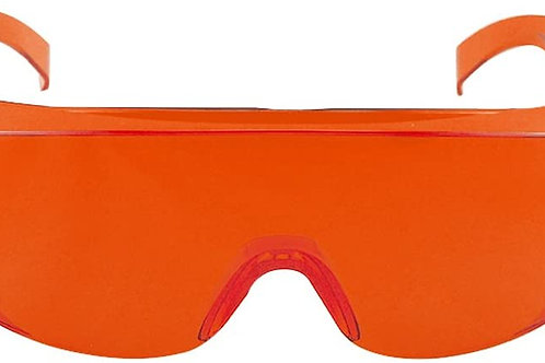 Red Safety Glasses