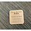 """Thumbnail: 6 x Wooden """"Change the Date"""" Invitations 10cm"""