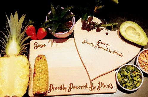Vegan Personalised Board- Plant Power