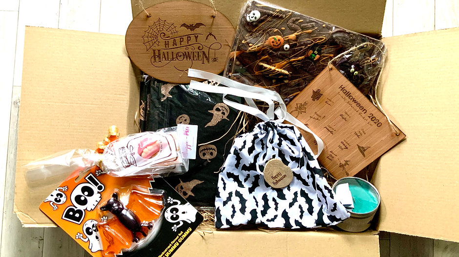 """""""Halloween at Home"""" Hamper- Support Six"""