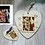 Thumbnail: Matching Heart plaque and magnet photo gift set