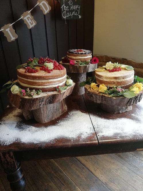 Cake Stand Trio- Unique set