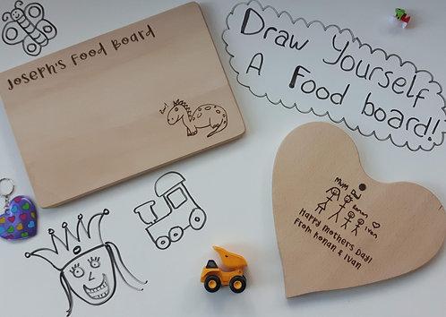 Draw yourself a Food Board!