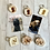 Thumbnail: Wooden Square 5cm Personalised Photo Keyring