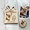 Thumbnail: Dog Birthday Card- Wooden, Personalised, Magnetic