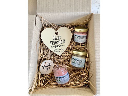 Thank You Teacher Personalised Gift Set-Various Design Oprions