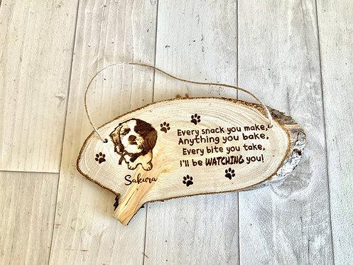 "Pet Plaque- ""Watching You"""