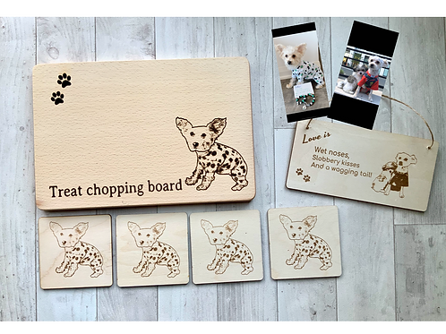Dog Lover Personalised 6 Piece Gift Set