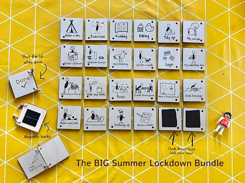 The Big Lockdown Bundle- Visual Timetable