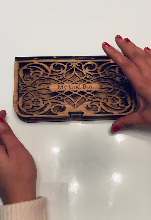 Wooden Bendy Box- Personalised