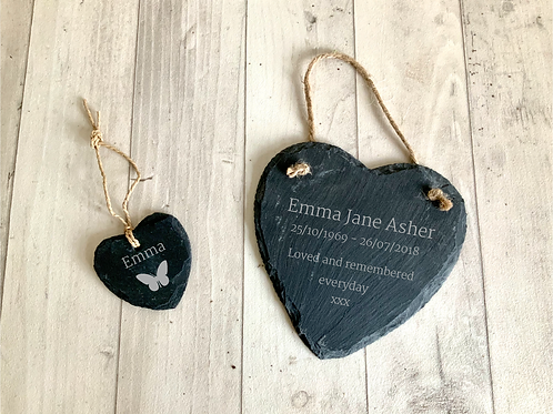 Personalised Slate Duo