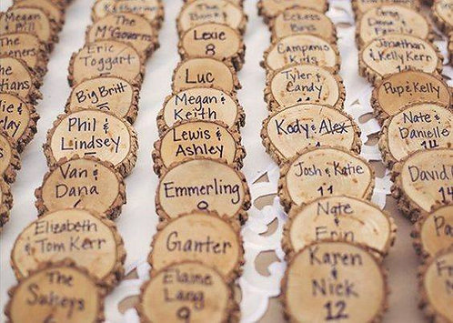 Personalised Favors/ Placeholders