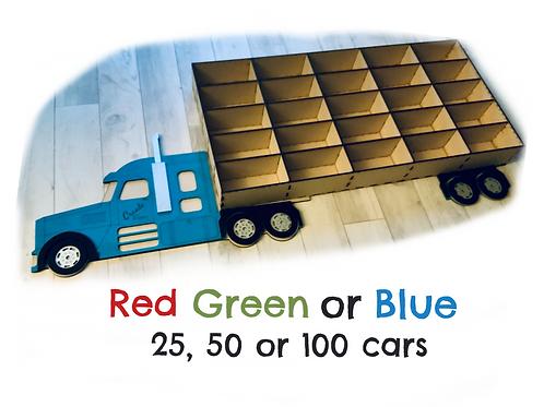 Car Storage Truck (wall hanging)-