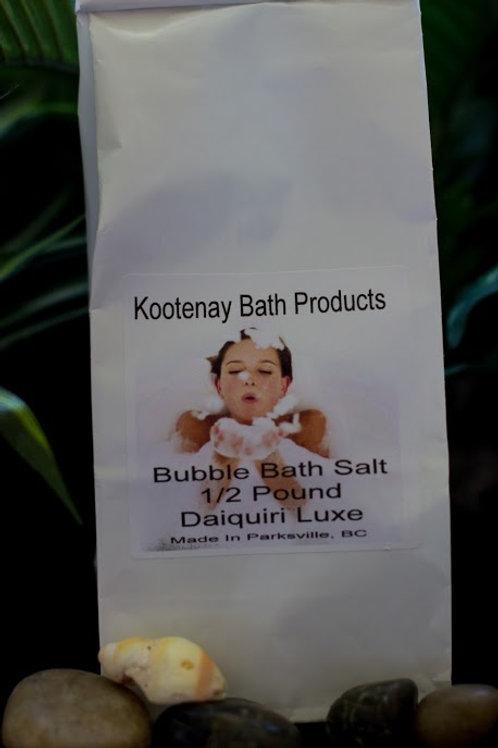 Bubble Bath Salt 1/2 pound