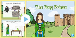 T-T-5343-The-Frog-Prince-Story-Powerpoin