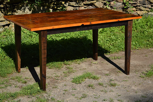 Shaker Style Reclaimed Wood Table