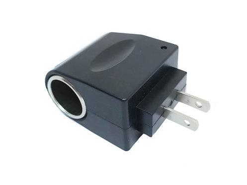 Adaptador AC de encendedor de coche a enchufe casa 110 220 V