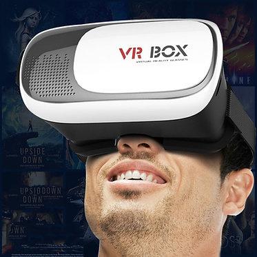 VRBOX Lentes de realidad Virtual 3D lote de vídeo gafas para 11,94 cm - 15,24 cm
