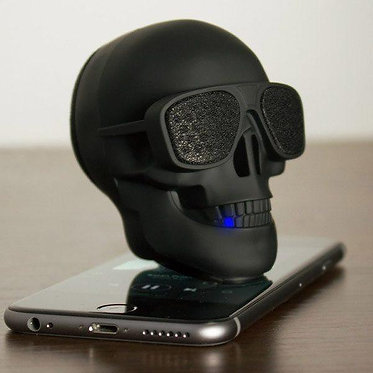 Bocina De Calavera Skull Speaker Bateria Recargable