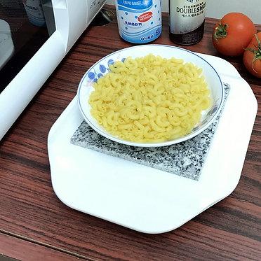 KEEP IT HOT Base Termica de Granito para Microondas Mantiene la Comida Caliente