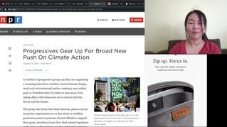 Part 1, BTS Dynamite, NPR ethics, Gina McCarthy White House Climate Czar, Greta Thunberg on taking action