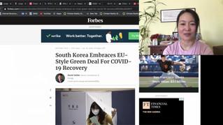 Part 1, BTS Black Swan, Yellow Dust, Desertification, China's 2060 zero emissions goal