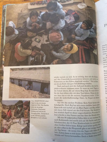 Mukta Nepal in der aktuellen Hinz&Kunzt