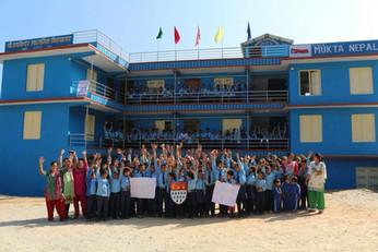 Wiedereröffnung der Nala Schule vor einem Jahr