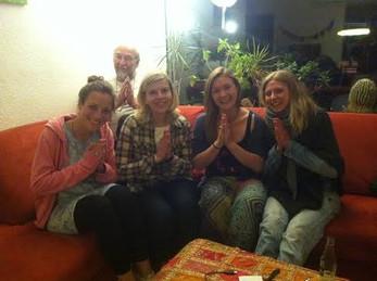 Ada hat uns beim Mukta Nepal Treffen besucht