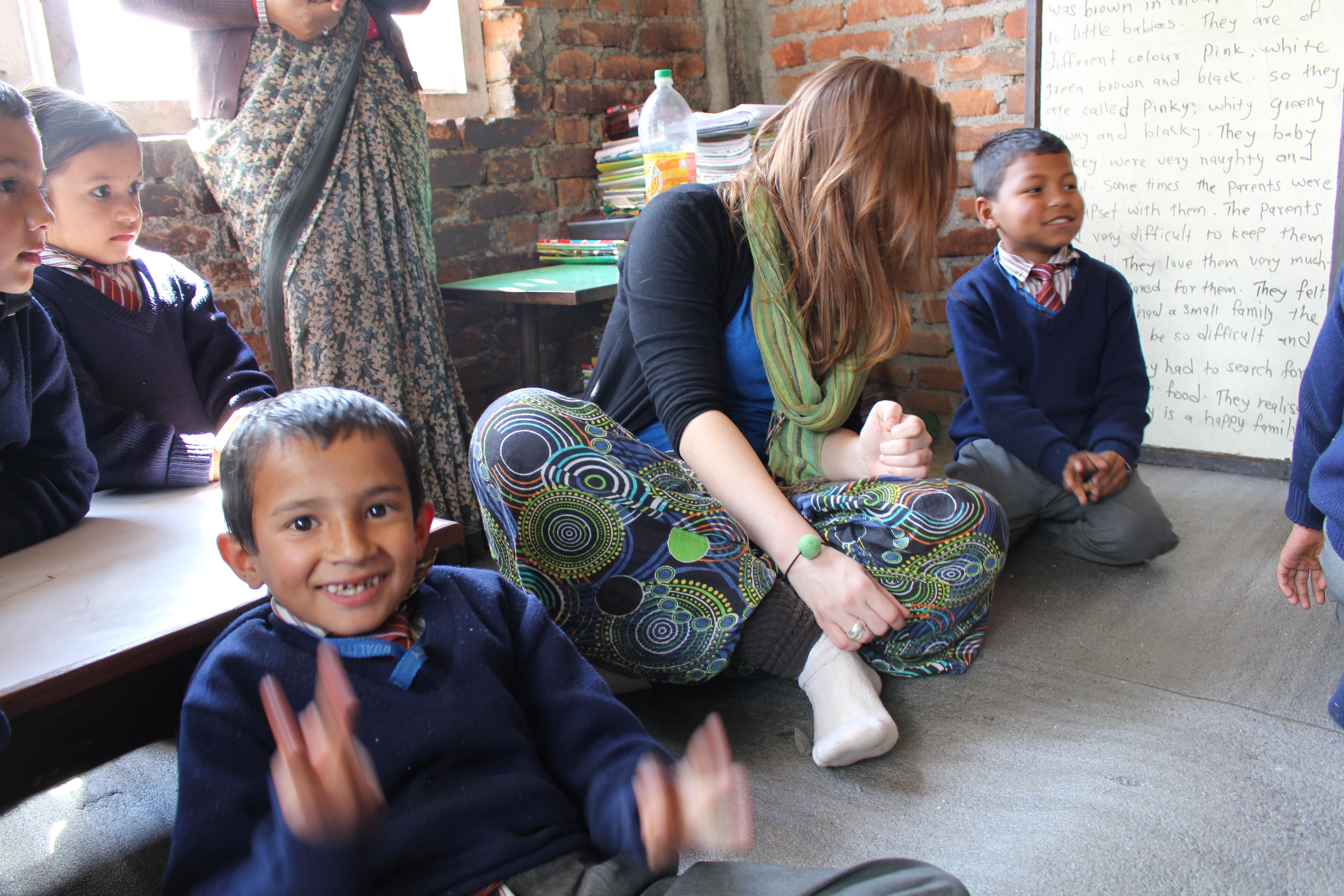 Zu Besuch in Shakars Klasse