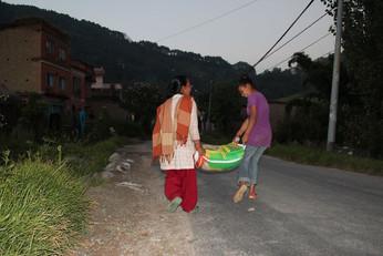 Heiko in Nepal zu Besuch