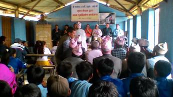 Der Schulaufbau in Nala geht voran