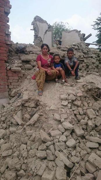 Rückblick auf das Erdbeben 2015