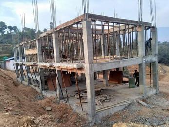 Schulbau Mahakali Schule geht voran