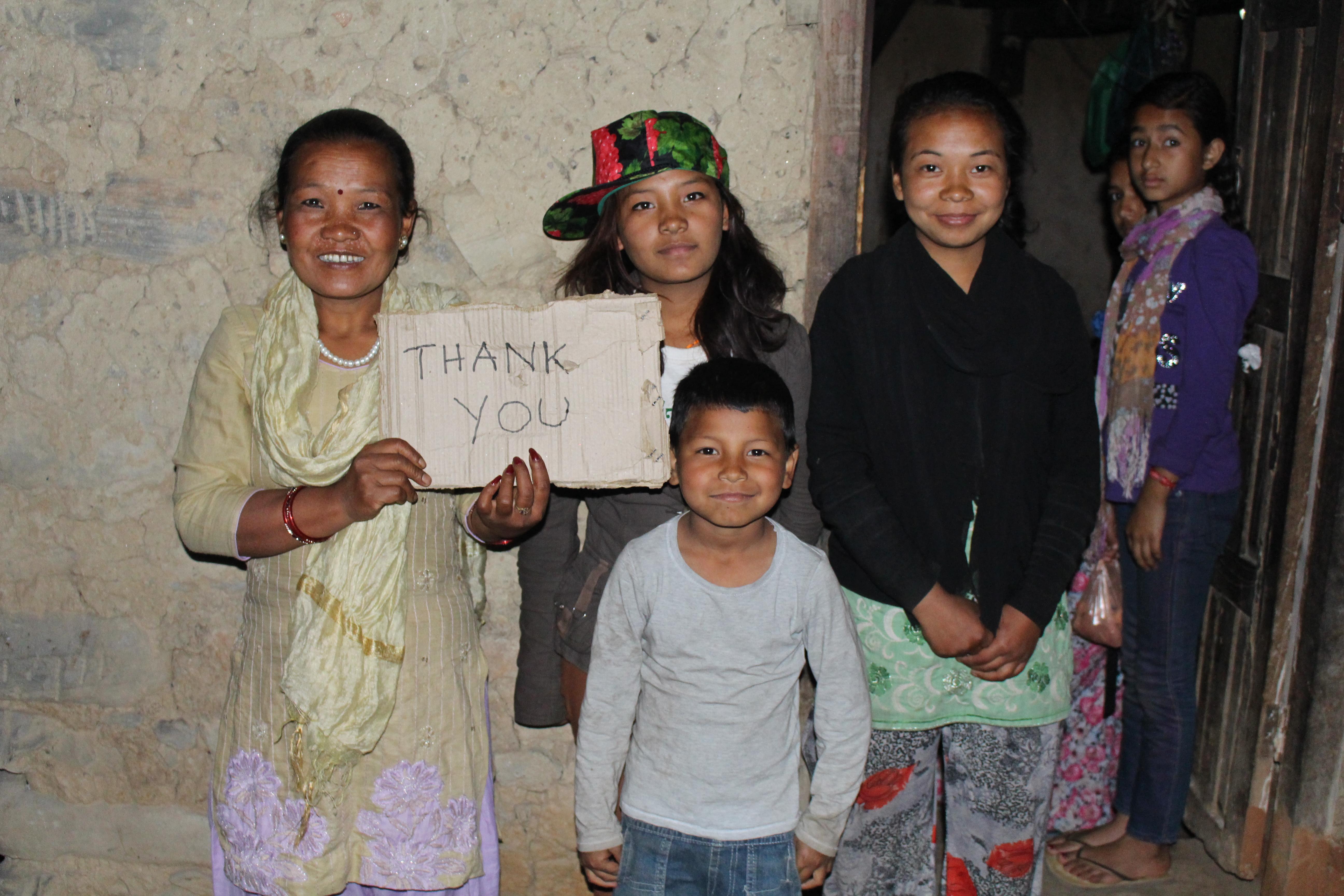 Danke für eure Spenden