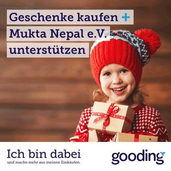 Geschenke kaufen und uns dabei unterstützen