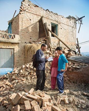 Erdbeben vor 3 Jahren