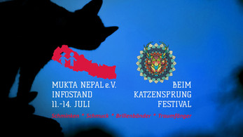 Mukta Nepal beim Katzensprung Festival 2019