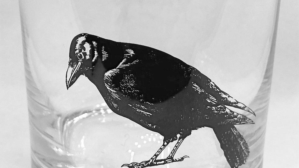 Crow Wiskey Glass