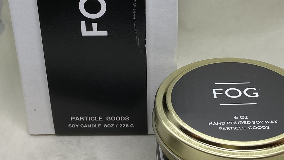 Fog candle from Particle Goods, Large size