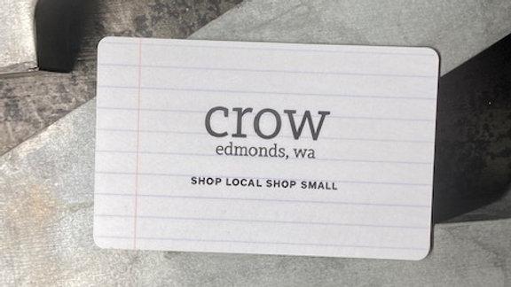 Crow $25 Gift Card
