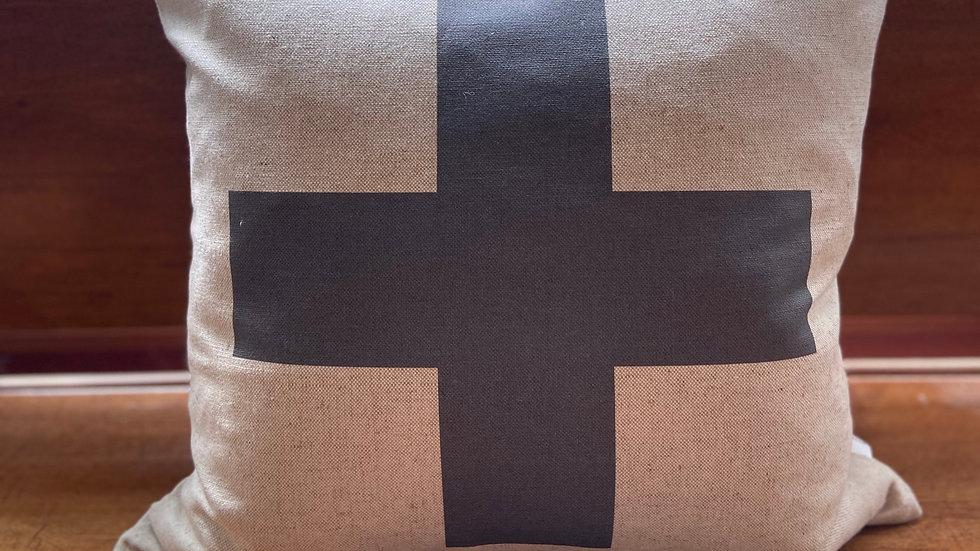 Swiss Cross Pillow