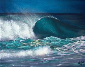 Denim Waves