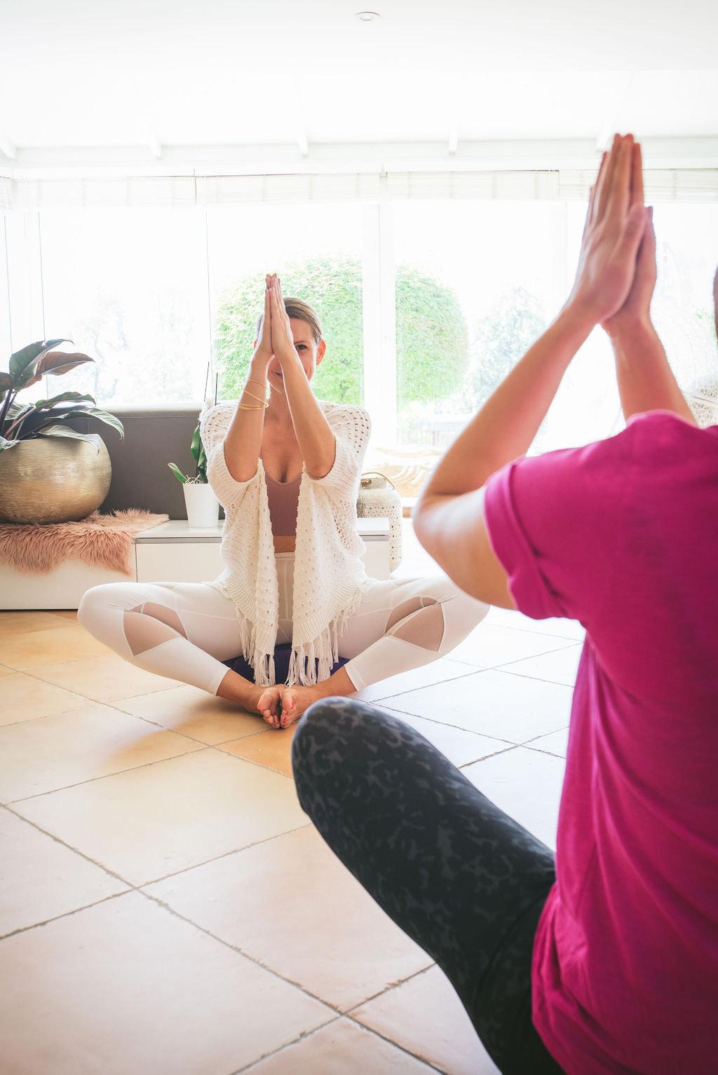 Yoga via Zoom