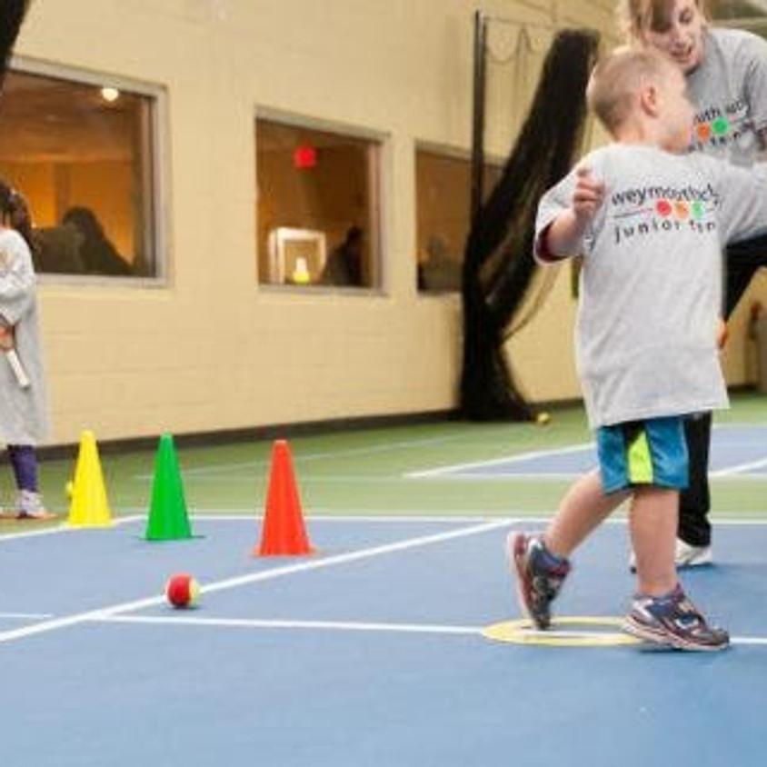 Kids Tennis Superhero Play Day