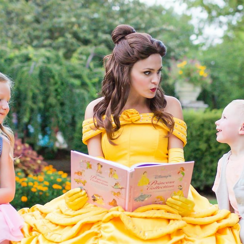 Socially Distant Princess Story Time (with special treat from Whites Bakery)