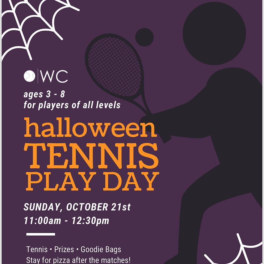 Halloween Tennis Play Day!