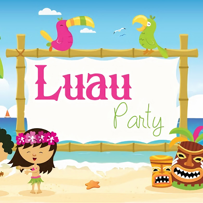 Family Summer Luau Party