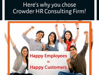 Here's why you chose Crowder HR!