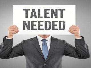 Talent Needed?